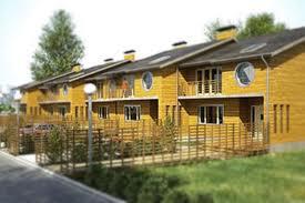 Загородные комплексы из таунхаусов в эконом варианте
